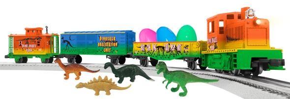 6-81031 Dinosaur Diesel Lionel set