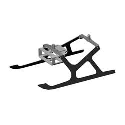 Aluminum/Carbon Fiber Landing Gear: MCPX