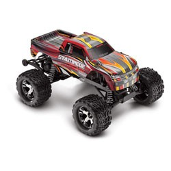 Stampede VXL, RTR, TSM, w/out Module, Red