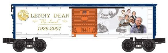 Lenny Dean Commemoration Boxcar 6-39299