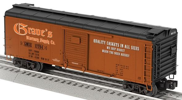 Graves Mortuary Supple Co. Round-Roof Boxcar