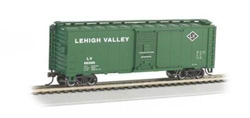 Bachmann Trains Lehigh Valley 40' Box Car-Ho Scale