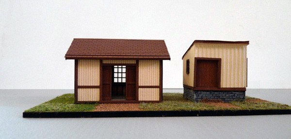 HO Baggage Building/Freight House