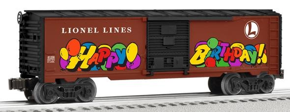 6-81256 Personalized Message Birthday Boxcar