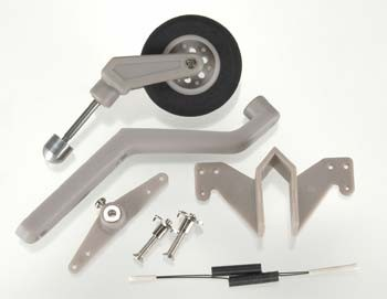957 Semi-Scale Tail Wheel System Size 60-120