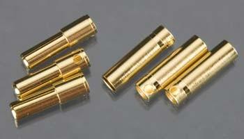 CCBUL4X3 4mm Bullet Conn 16G/13G 75A (3)