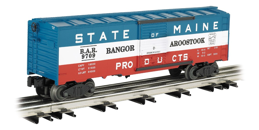 Bangor & Aroostook - State of Maine O Scale Boxcar