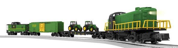 O-Guage  John Deere Freight Set