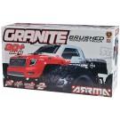 AR102604 Granite Mega Brushed 2000mAh NiMH 7.2V Red