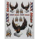 S010 Sticker Sheet Eagles