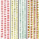 S010 LettersStickerTuscan & Playbill Letters Sheet Eagles