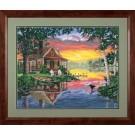 91315 Sunset Cabin PBN 20x16