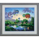 91243 Balloon Glow PBN 20x16