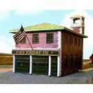 FIRE STATION HO SCALE