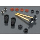 T8553 Front Piggyback Shock Rebuild Kit Slash 4x4 (2)