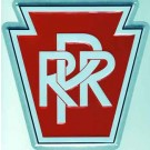 "Metal Sign - 8"" - Pennsylvania Railroad -- Stock# 10001"