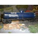 40' single dome Tank Car blue