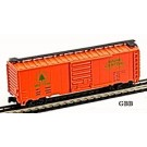 N Scale 40' MAINE CENTRAL BOX CAR Model Power NEW 83440
