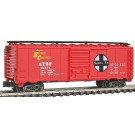 "N GAUGE-MODEL POWER-83438-A.T.S.F. SANTA FE ""SHOCK CONTROL"" 40' BOX CAR"