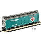 N Scale 40' RAILWAY EXPRESS AGENCY Refrigerator Car Model Power NEW 83390