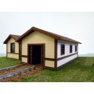 HO PRR Toolhouse/Baggage Building #2