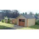 HO Garage Tool Shed & Outhouse