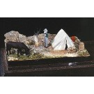 Prospector's Camp w/Fire - HO-Scale