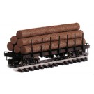98470 Log Car w/Logs Undecorated G