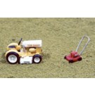 JL Innovative Design # 452 Lawnmower Set; Riding Mower Push Mower HO