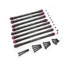"""SCX305TL01 Aluminum 4-Link Set 12"""" Axial SCX10"""