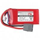 LiPo 3S 11.1V 1000mAH 30C Elctrfly w/Star Plug