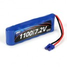 7.2V 1100mAh NiMH Battery with EC2 long: Mini 8