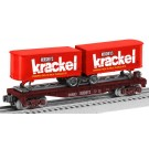6-26693 Krackel Flatcar with Piggyback Trailers