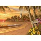 14887 Tropical Love 500pcs Large Format