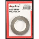 Striping Tape Metallic Charcoal 1/8""
