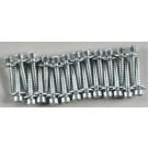 893 Socket Head Servo Mntng Screws (24)