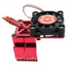 MH550TE02 Red Multi Mount Fan Cool Heat Sink 36mm Motor