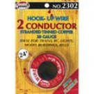 2302 2 Conductor Wire Carded (28 Gauge) 24'