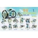 OWI-MSK615 14-In-1 Educational Solar Robot Kit