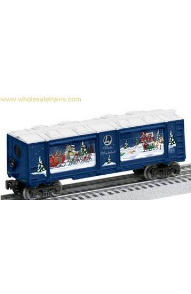 Winter Wonderland Christmas Operating Aquarium Car, Lionel 6-82740