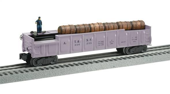 Lionel pastel #3562 Operating barrel car