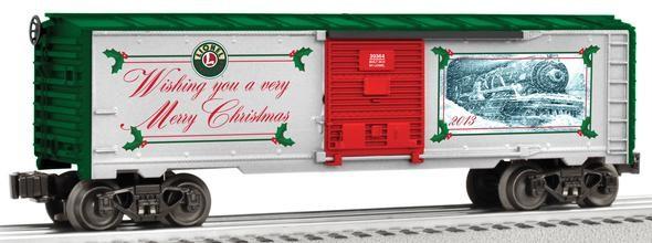 6-39364 2013 O Gauge Christmas Boxcar
