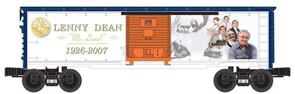 Lenny Dean Commemoration Boxcar 6-39299