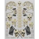 S004 Sticker Sheet Skeletons