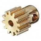 Pinion Gear 12T .6 Module 2mm Shaft