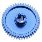 Aluminum Spur Gear 45T Blue BX MT SC 4.18