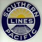 """Metal Sign - 8"""" - Southern Pacific -- Stock# 10005"""
