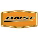 BNSF Metal Sign