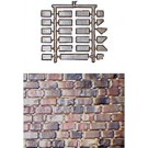 Stones (Covers 10sq. Inch) -- HO Scale Model Railroad Scenery -- #502