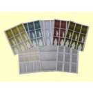 O Window Treatment (Package of 8 Sheets)